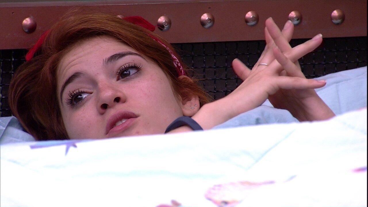 Ana Clara sobre Jéssica: 'Prefiro acreditar que ela é boba'