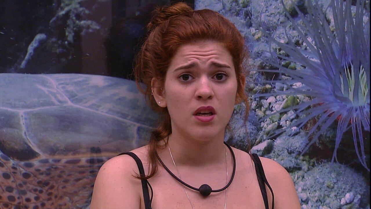 Ana Clara fala sobre sister: 'Fiquei muito decepcionada'