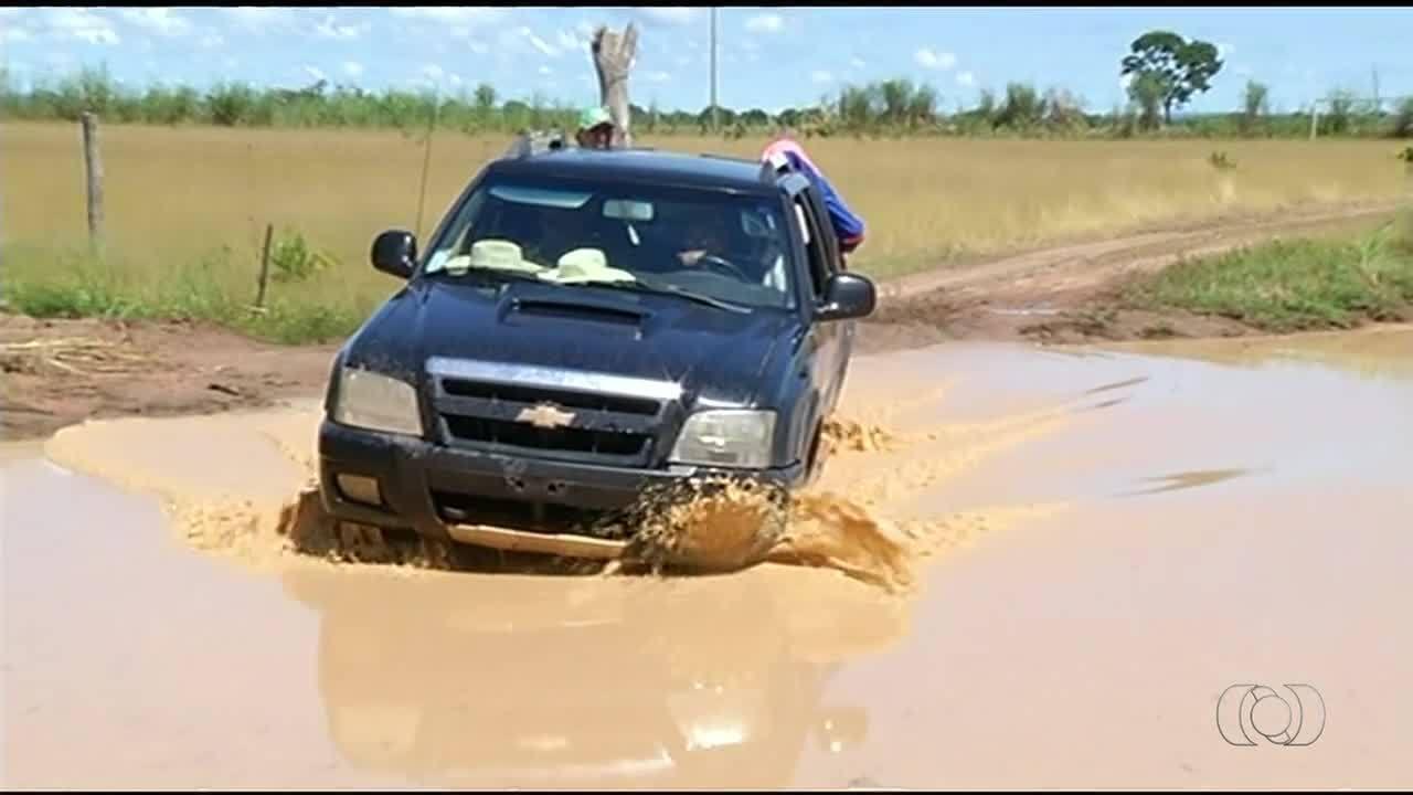 Alunos ficam sem assistir aulas por causa das condições de estrada no Tocantins