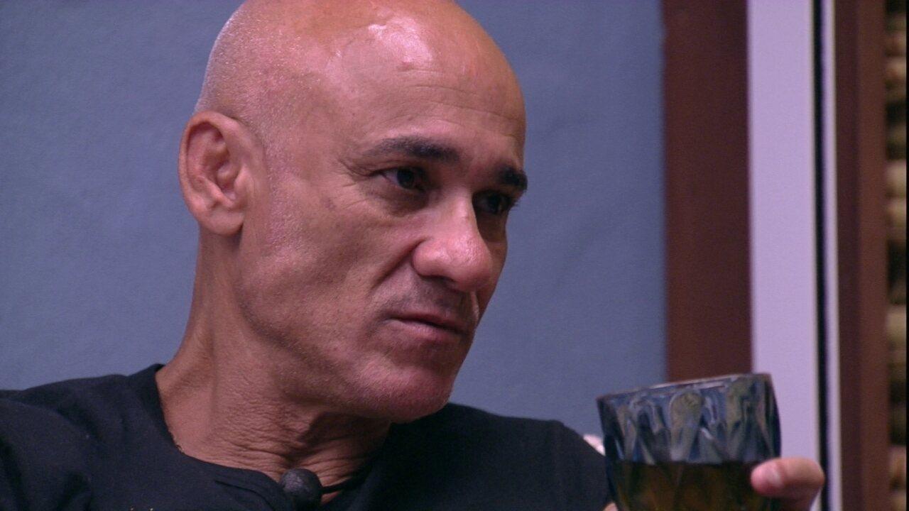 Ayrton diz para Kaysar que já superou: 'Se eu sair, a culpa vai ser minha'