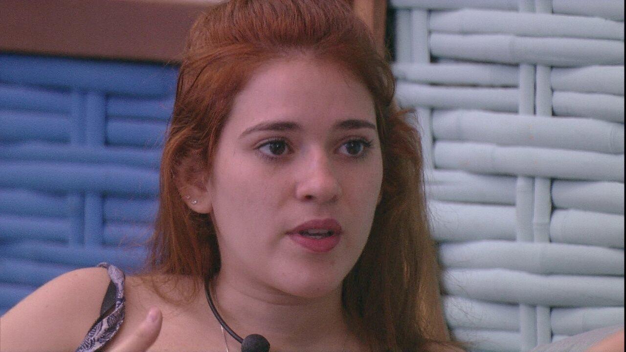 Ana Clara para Jéssica sobre Viegas: 'Se ele precisar votar em você amanhã não está nem aí