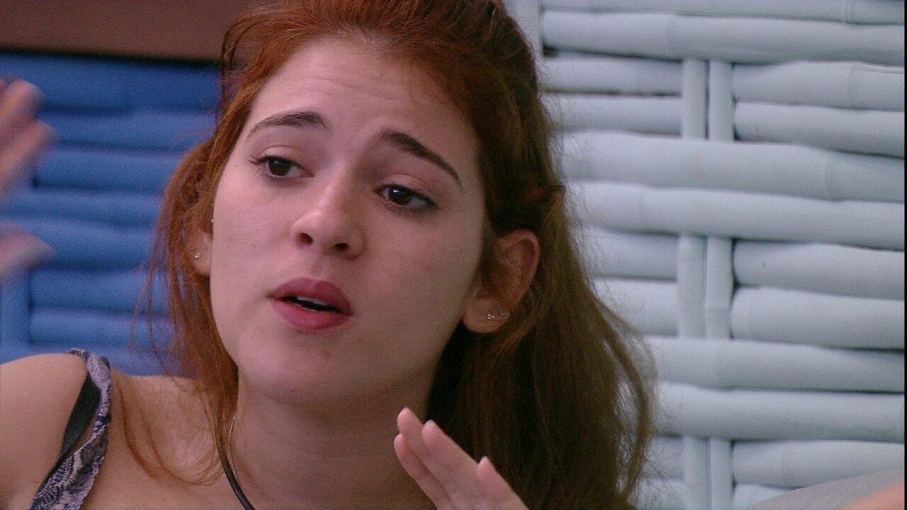 Ana Clara afirma: 'Eu estou com mais raiva do Kaysar do que de você'
