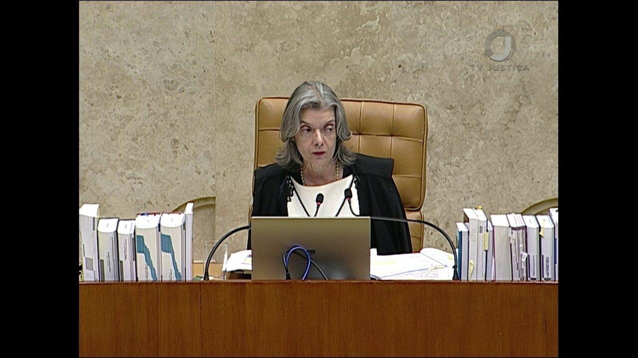 Cármen Lúcia vota no julgamento do habeas corpus de Lula