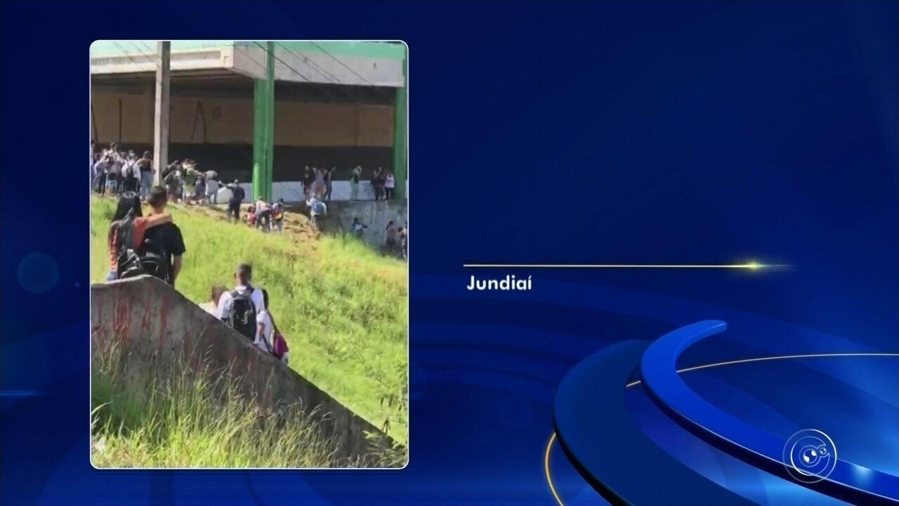 Vídeo mostra confusão em escola de Jundiaí