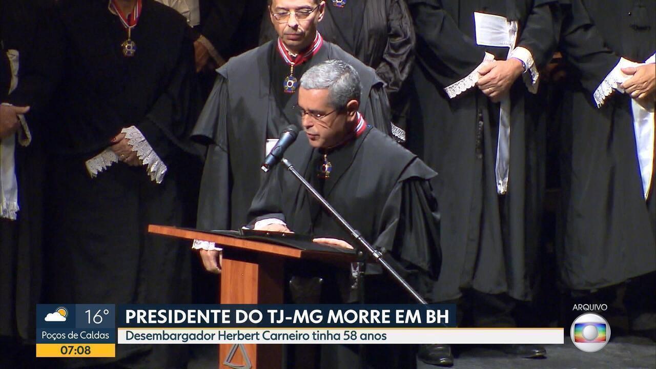 Morre desembargador Herbert Carneiro, presidente do TJMG