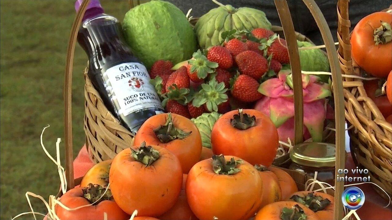 Tradicional Festa do Caqui começa nesta sexta-feira em Itatiba
