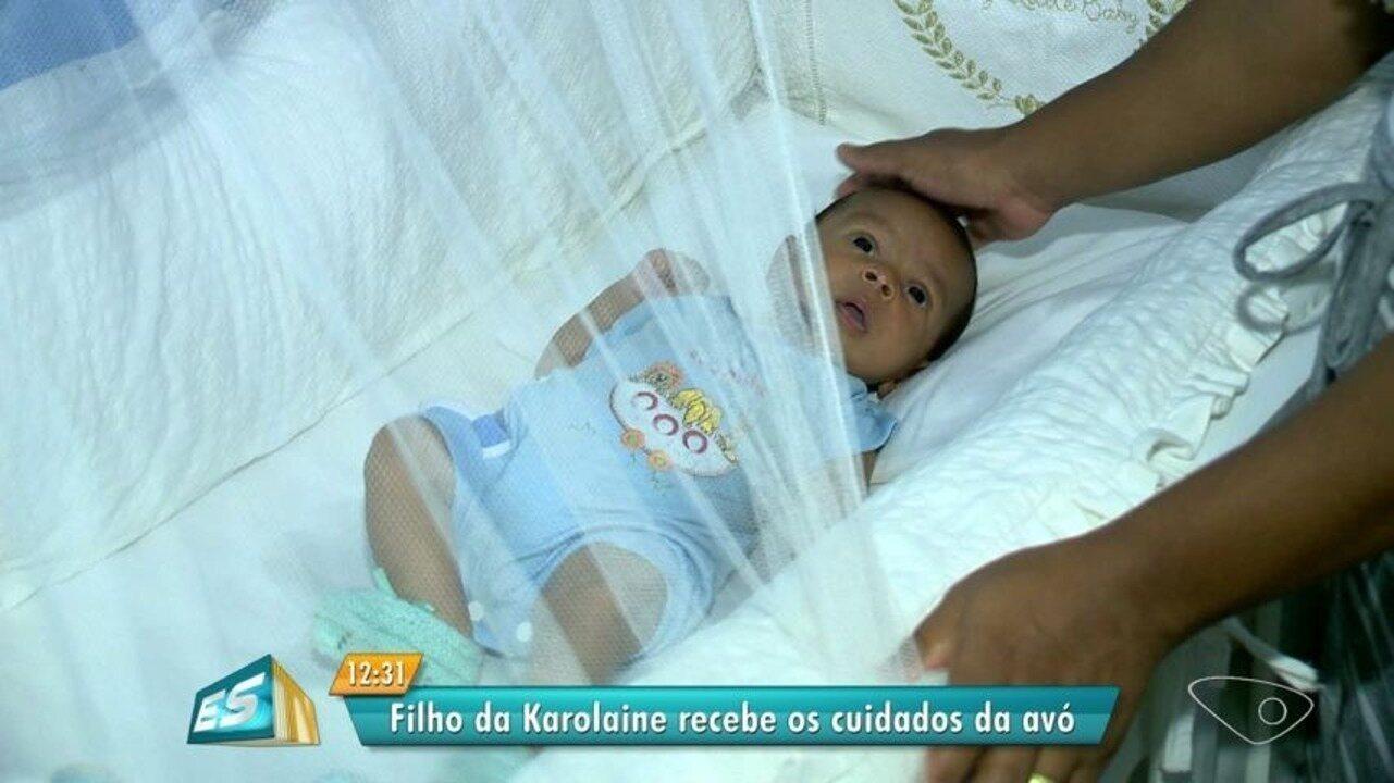 Filho de jovem morta em Cariacica fica com a avó