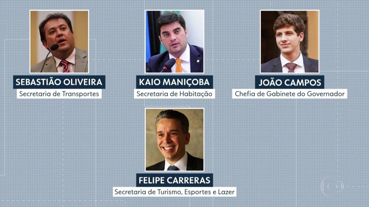 Sete secretários de Pernambuco renunciam aos cargos para serem candidatos nas eleições