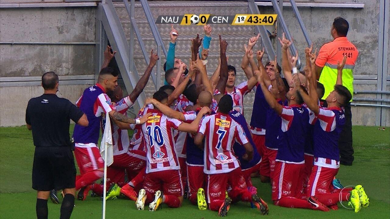Ortigoza deixou sua marca também na final do Campeonato Pernambucano, contra o Central