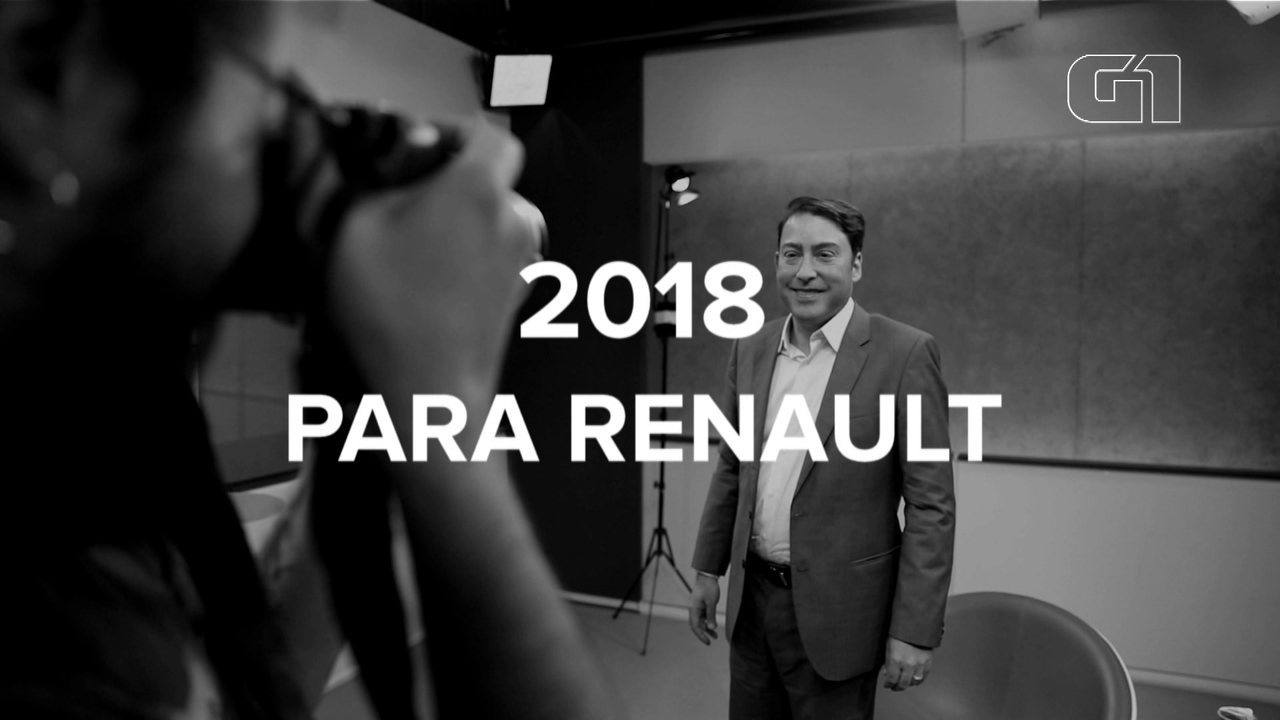 Presidente da Renault do Brasil fala sobre 2018 para a empresa