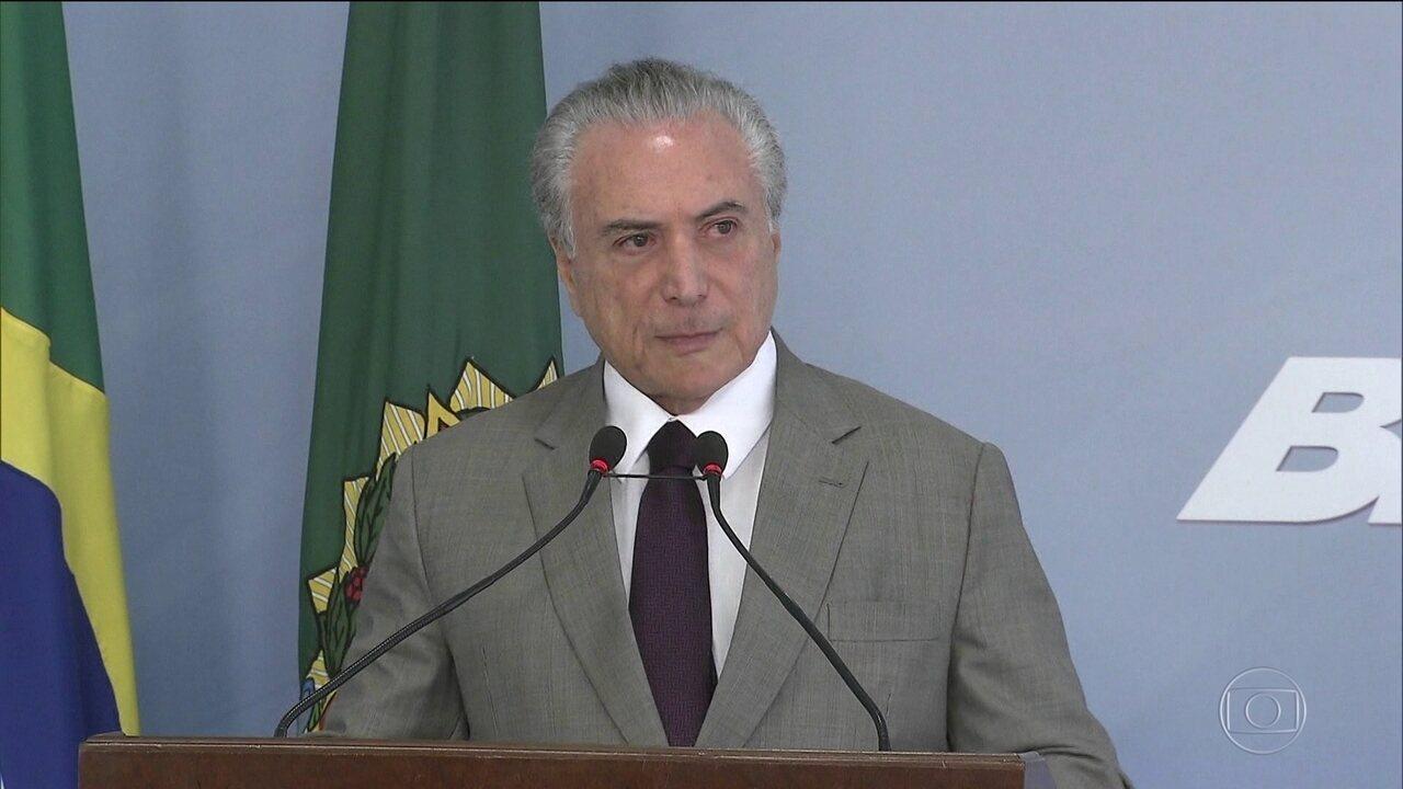 Juiz aceita denúncia contra amigos de Temer e integrantes do MDB