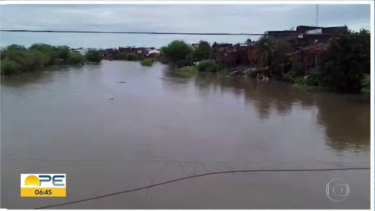 Situação de barragens de Pernambuco melhora depois das chuvas dos últimos dias