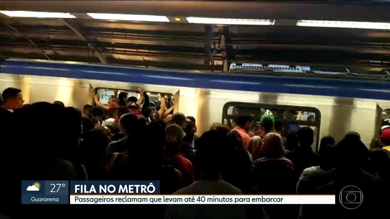 Novas estações causam problemas na Linha 5-Lilás