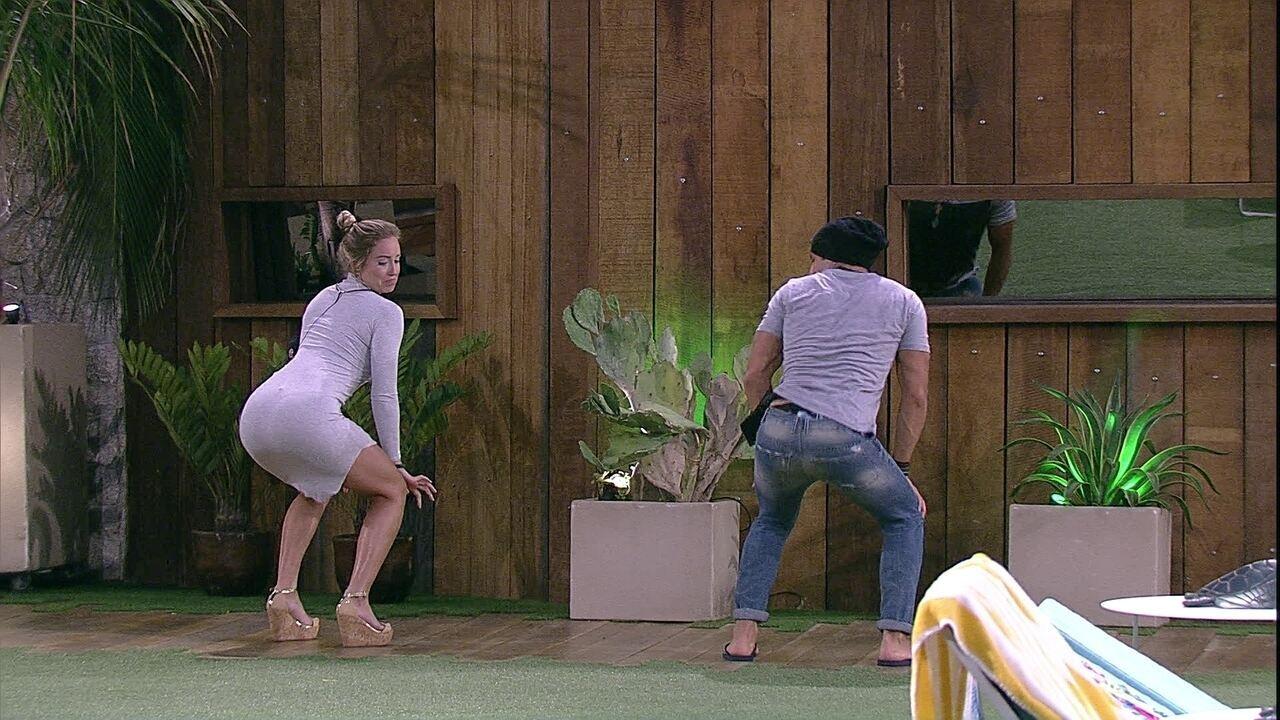 Emparedados, Jéssica e Kaysar dançam funk juntos