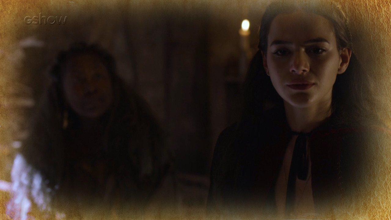 Resumo de 13/4: Catarina ouve profecia de mandingueira e tenta engravidar