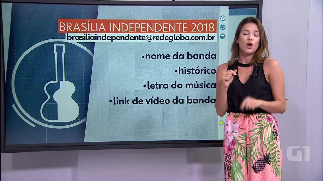Brasília Independente 2018: Veja como se inscrever na 9ª edição do concurso da TV Globo