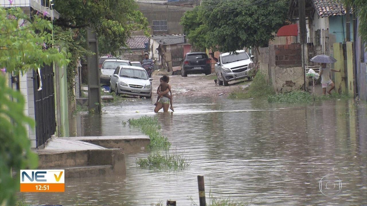 Alagamentos no bairro de Campo Grande preocupam moradores