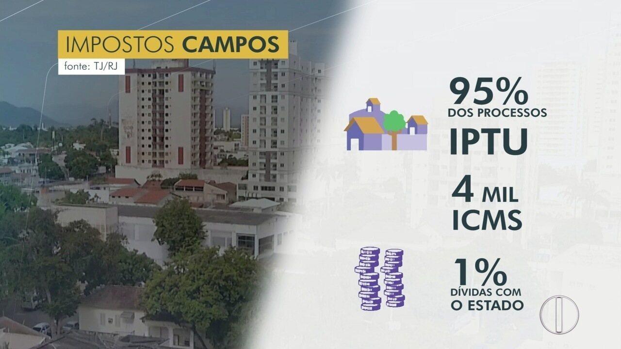 Justiça exige cumprimento de punições para pessoas que devem pagamento de IPTU em Campos