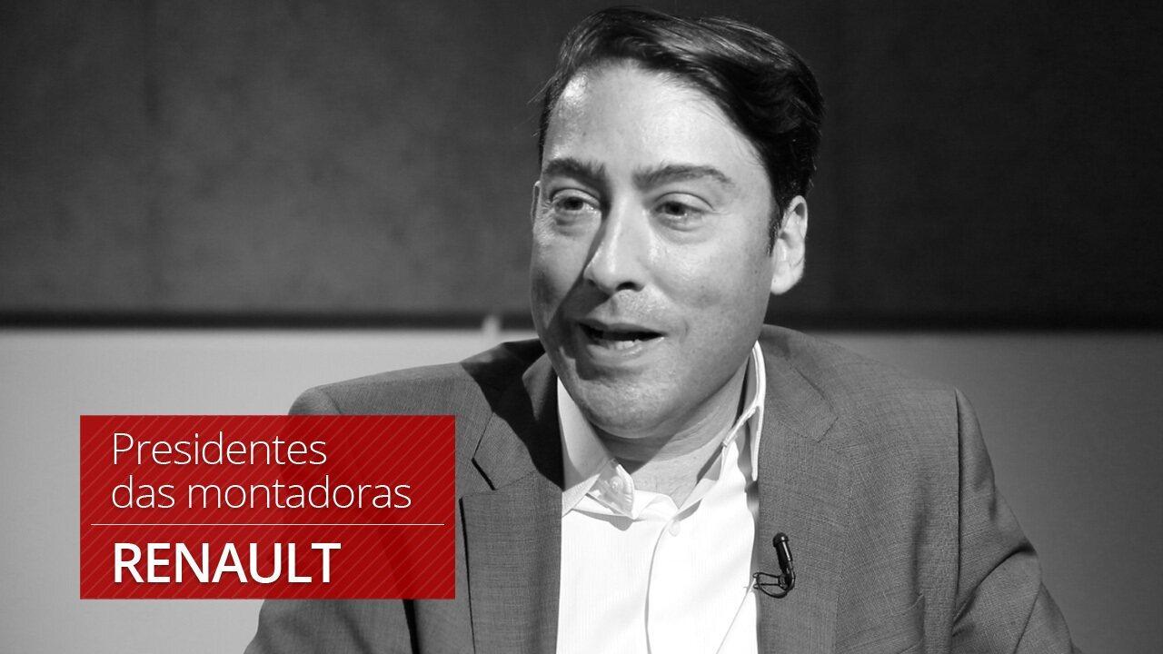G1 entrevista presidente da Renault, Luiz Pedrucci