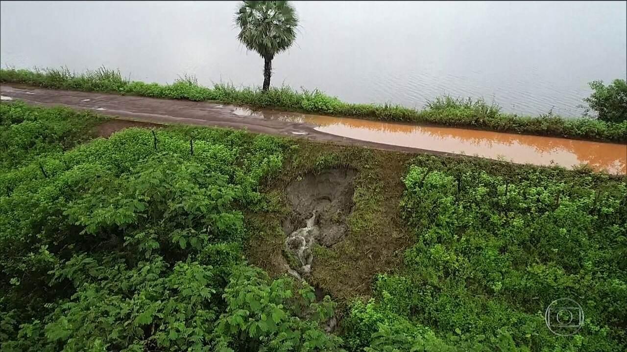 300 famílias deixam as casas por ameaça de rompimento de barragem no Piaui