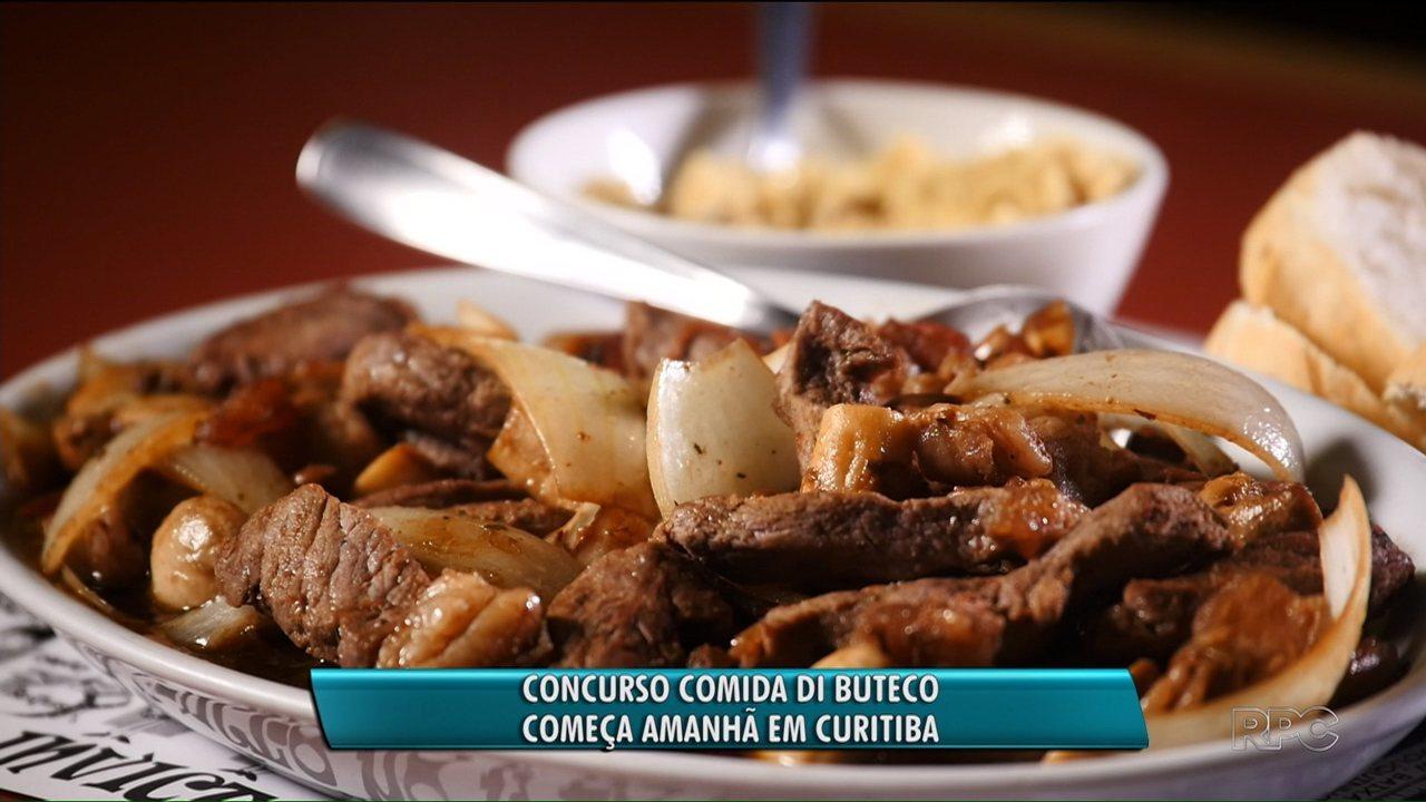 Concurso Comida di Buteco começa nesta sexta-feira (13)