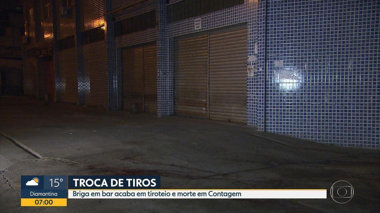 Briga Em Bar Termina Com Dois Mortos Em Contagem; Um Deles Era Policial  Civil