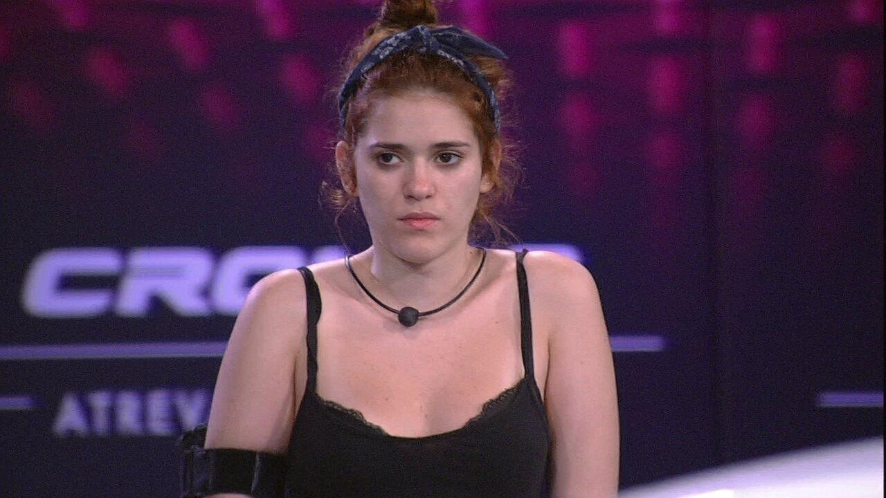 Ana Clara após mais de 15 horas de prova: 'Quero muito sair daqui'