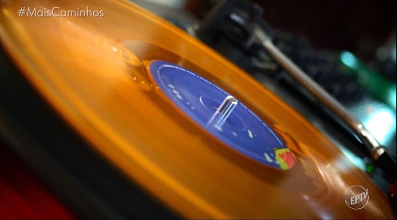 Daniel Perondi conhece um apaixonado por discos de vinil