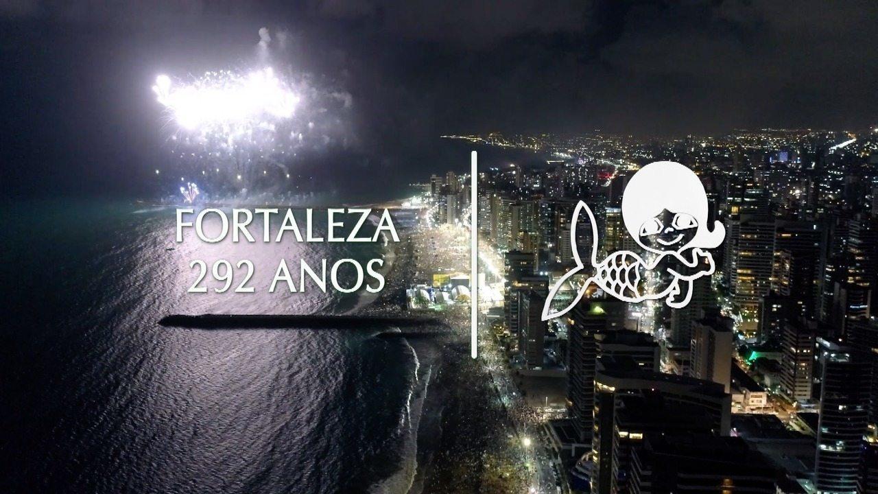 Homenagem da TV Verdes Mares ao aniversário de 292 anos de Fortaleza