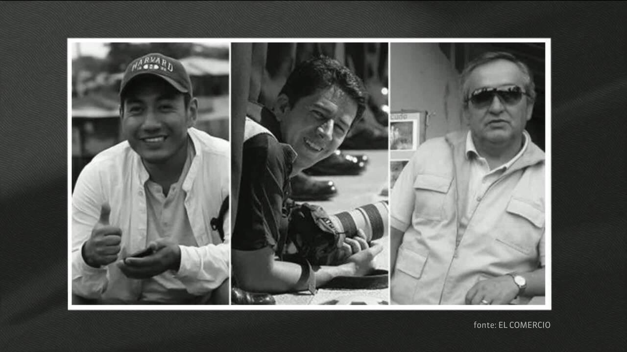 Equador confirma morte de jornalistas sequestrados na fronteira com a Colômbia