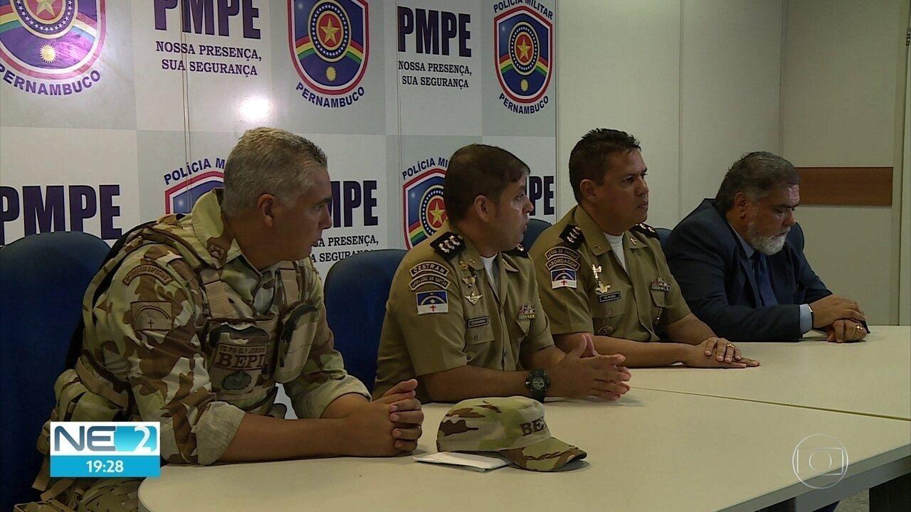 Assaltantes de banco mortos em Ibimirim tinham histórico de crimes, segundo a Polícia Militar