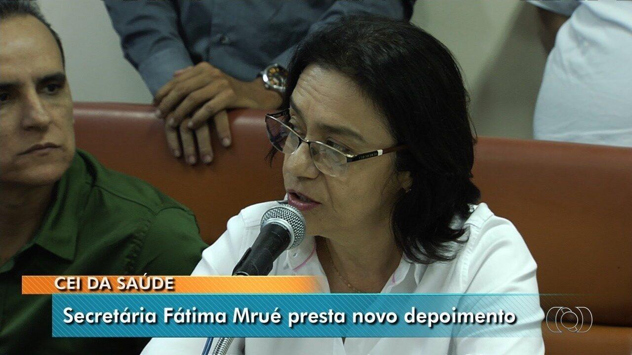 CEI da Saúde dá dez dias para envio de notas fiscais e documentos, em Goiânia