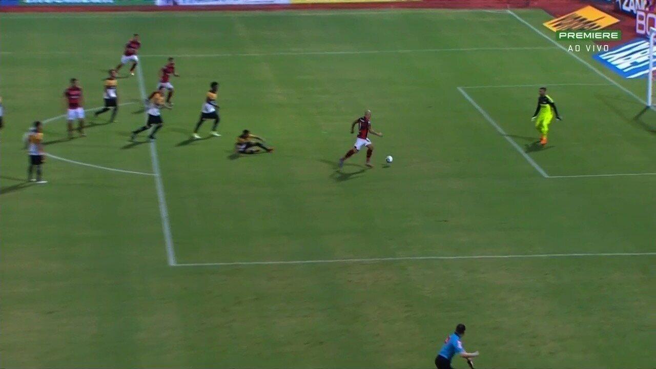 Veja o gol de Tomas Bastos e também os demais na vitória do Dragão