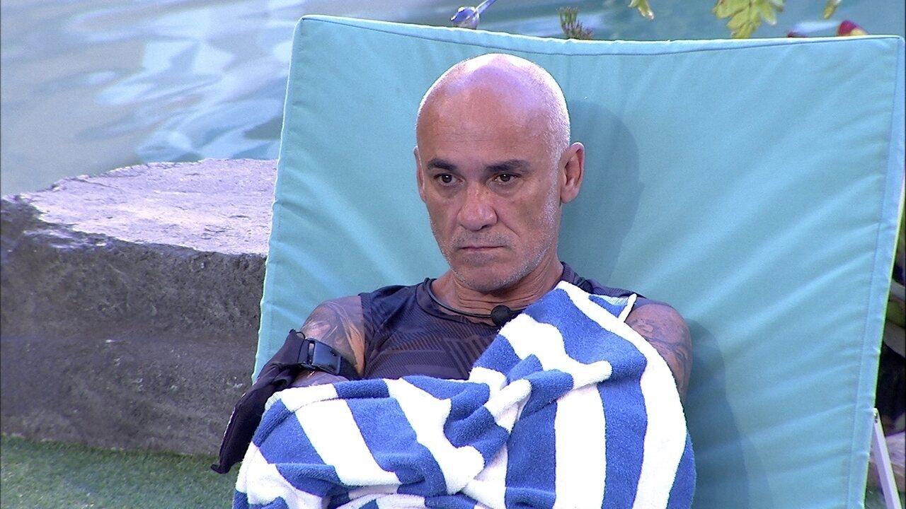 Ayrton comenta sozinho sobre Ana Clara: 'Não sei se ela vai conseguir'