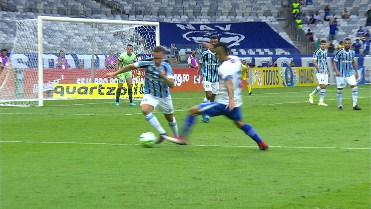 Melhores momentos: Cruzeiro 0 x 1 Grêmio pela 1ª rodada do Campeonato Brasileiro 2018