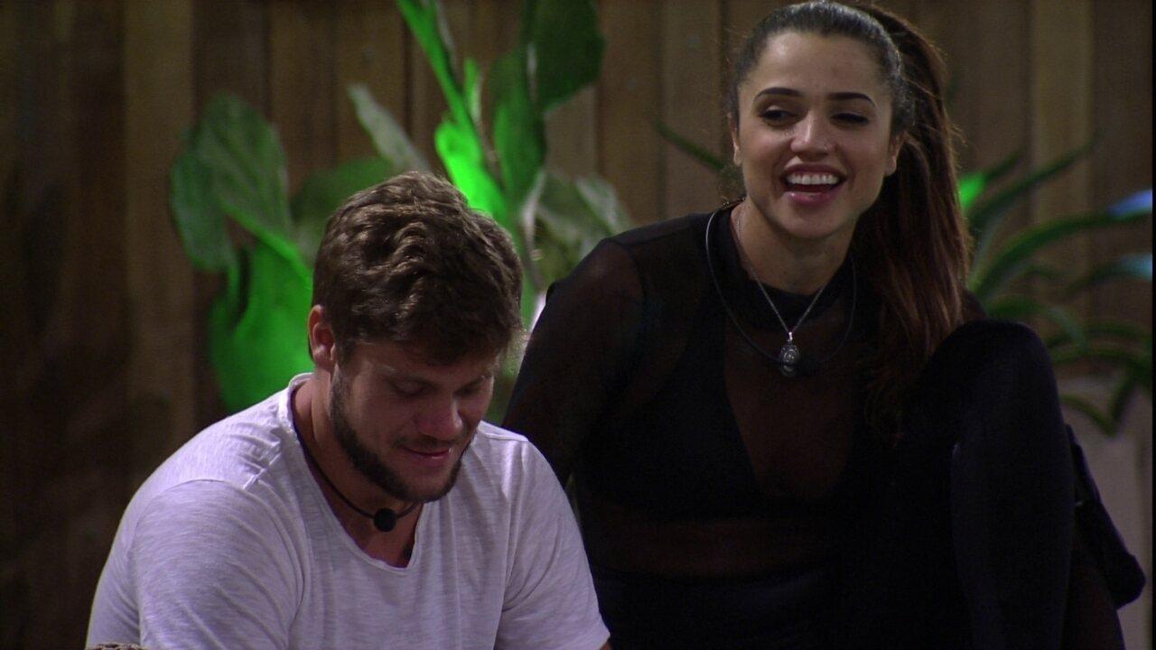 Paula imagina Castigo do Monstro com Kaysar e Jéssica: 'Ela não teria para onde correr'