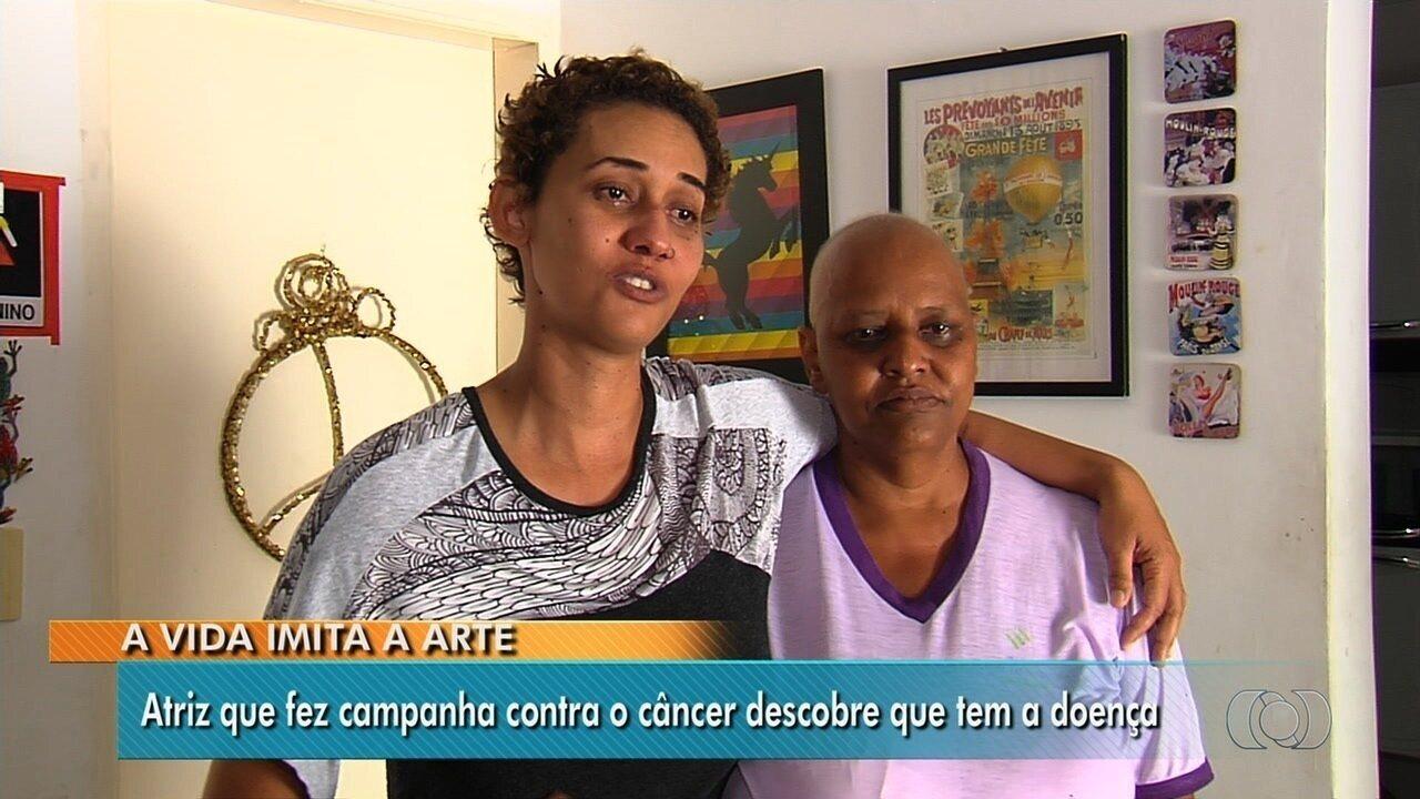 Irmãs com câncer lutam para superar a doença, em Goiânia
