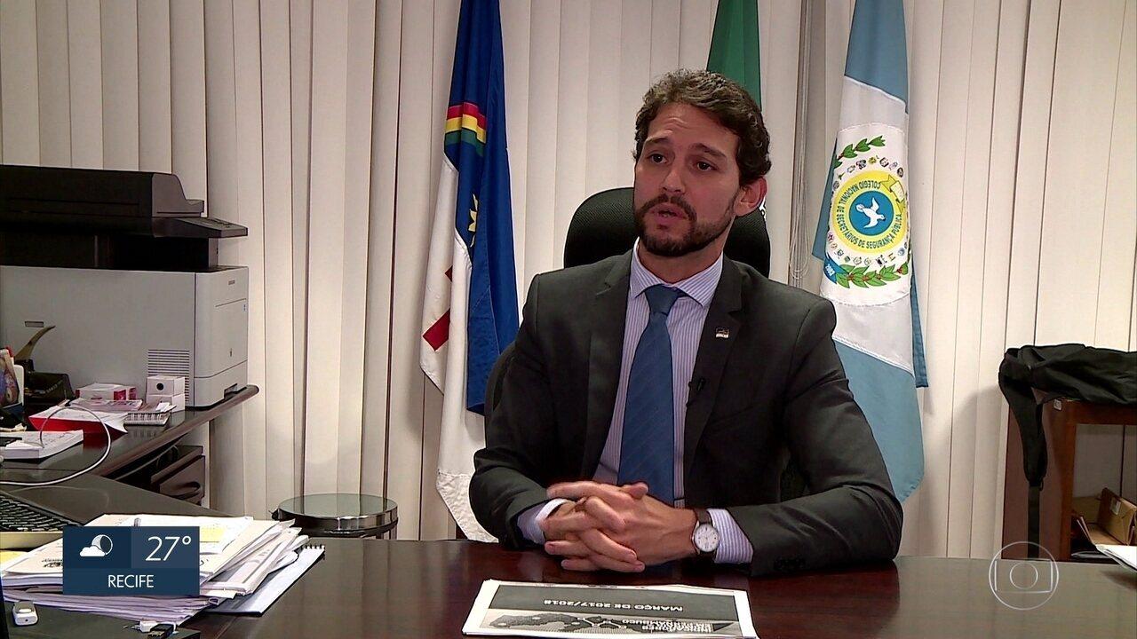Número de homicídios em março de 2018 cai 33,5% em Pernambuco