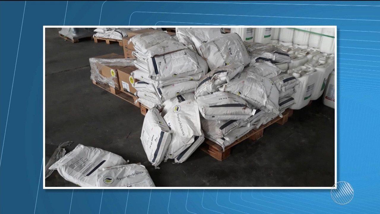 Bandidos roubam 16 mil litros de defensivos agrícolas na zona rural de Correntina