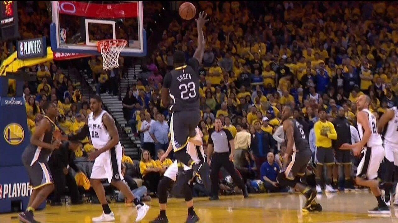 Melhores momentos: San Antonio Spurs 101 x 116 Golden State Warriors pelos playoffs da NBA