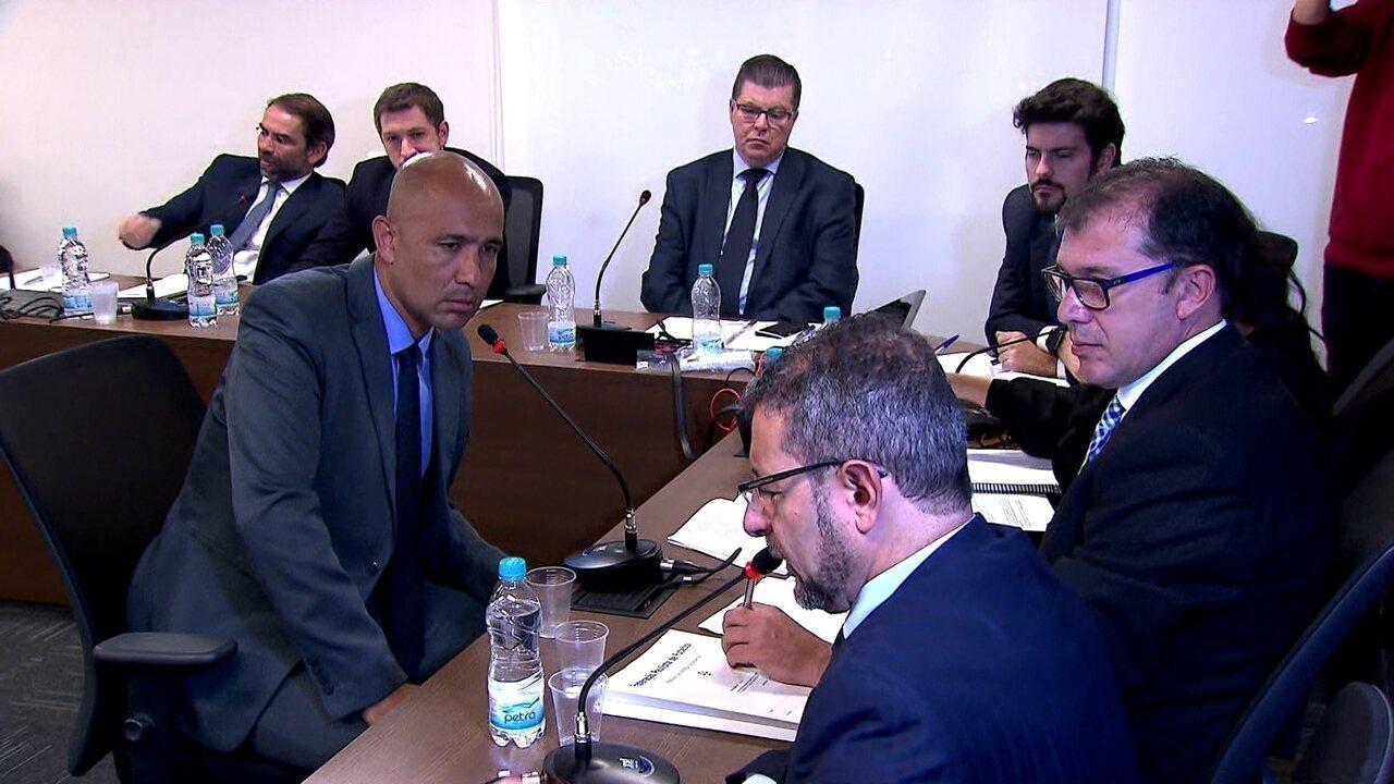 Veja um trecho do depoimento do árbitro Marcelo Aparecido Ribeiro de Souza
