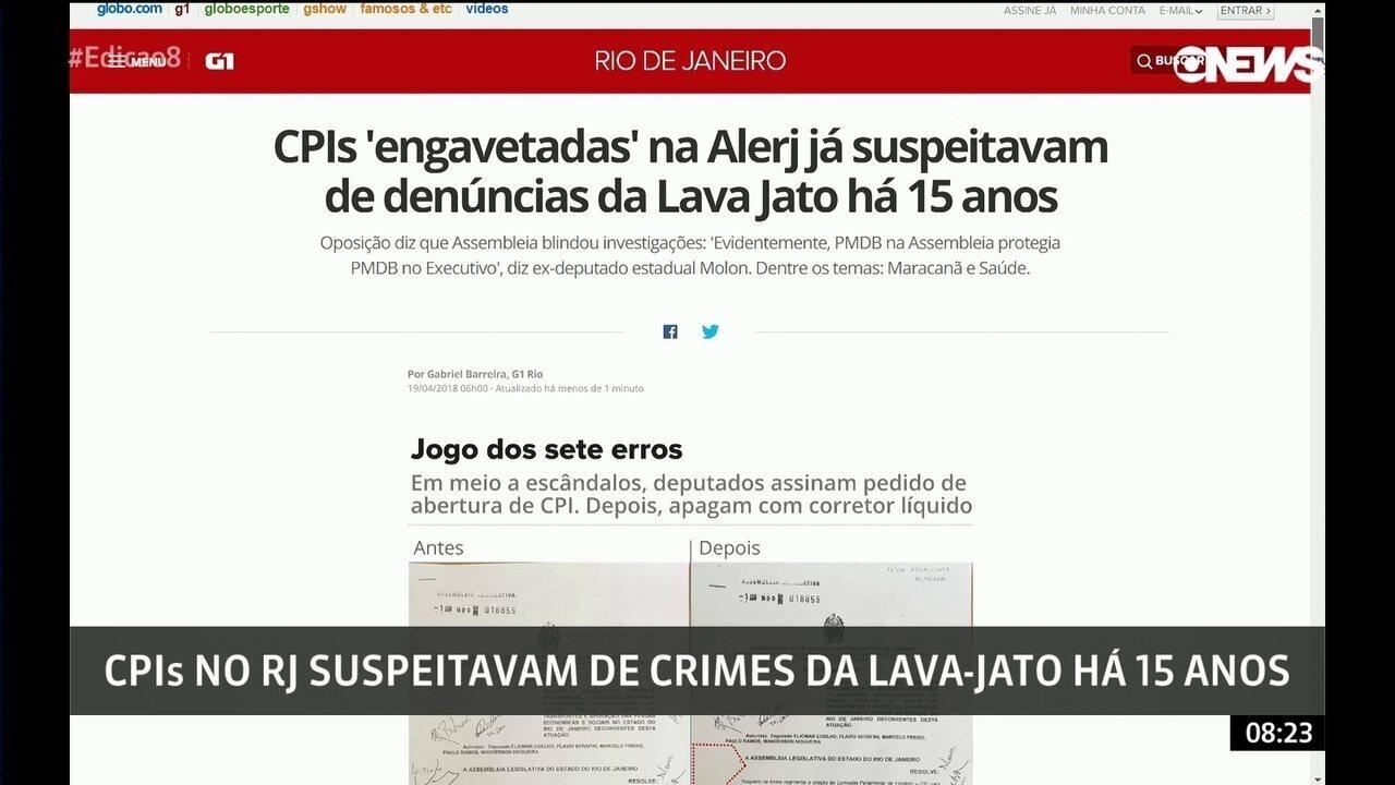 Dez CPIs que suspeitavam crimes da Lava Jato são engavetadas