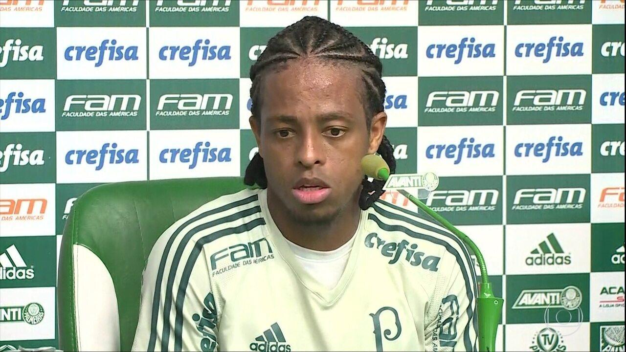 Keno nega má fase no Palmeiras