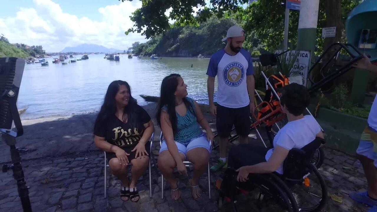 'Caldeirão' entrega cadeiras de roda para o projeto Montanha Para Todos