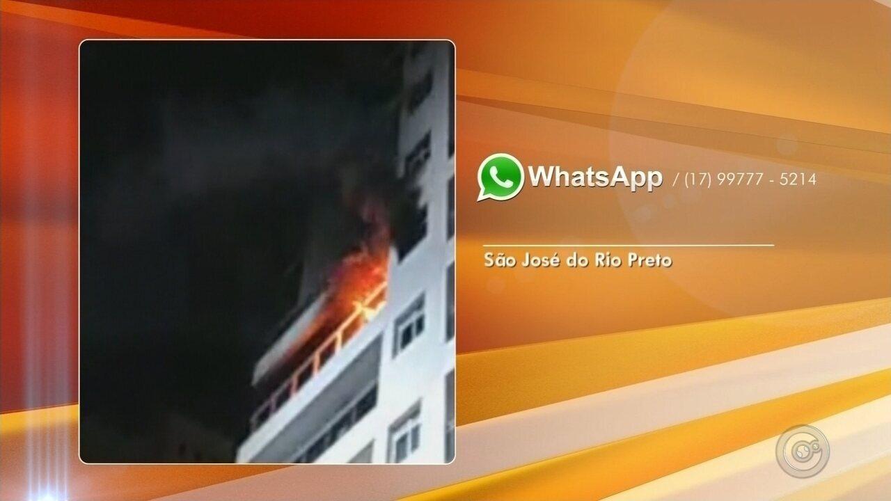 Incêndio destrói barracos em comunidade na Grande São Paulo
