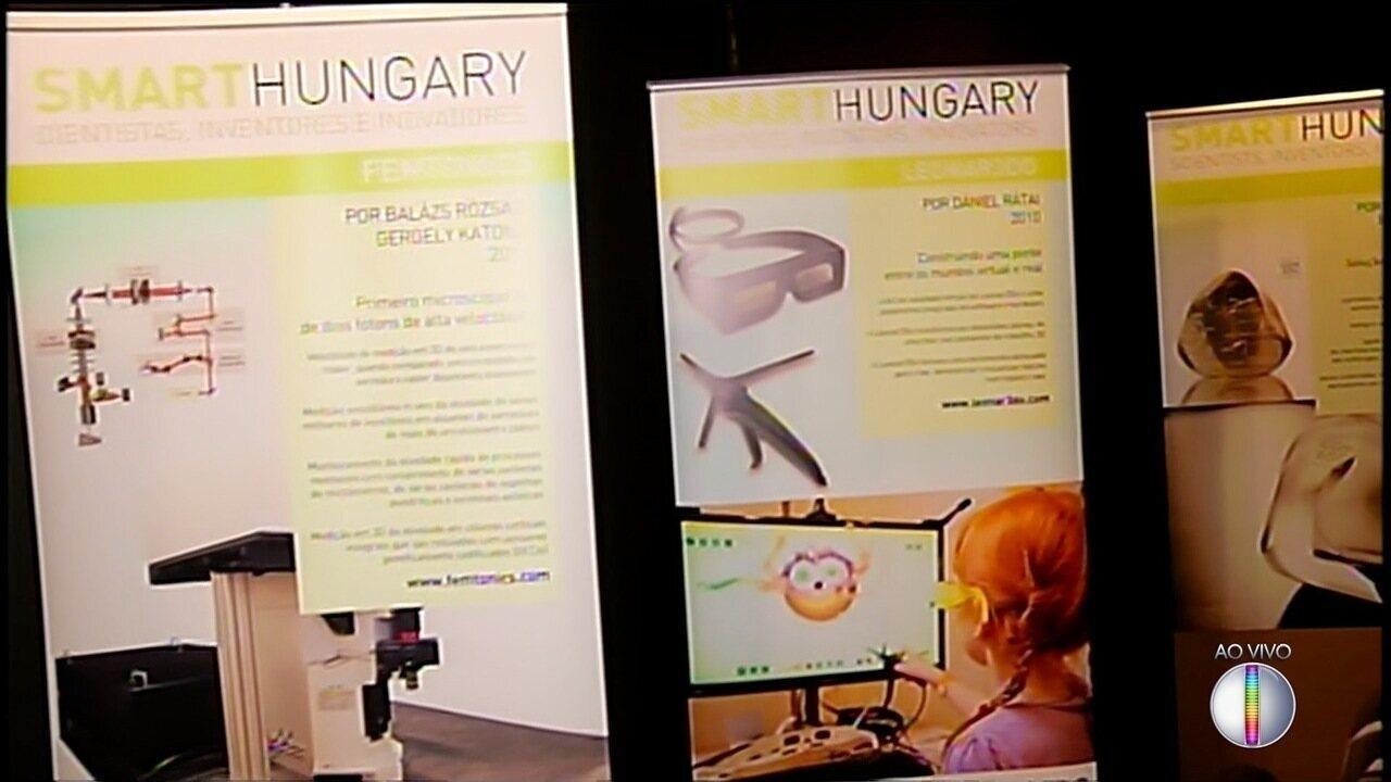 Espaço cultural da Inter TV em Nova Friburgo, RJ, recebe exposição da Hungria