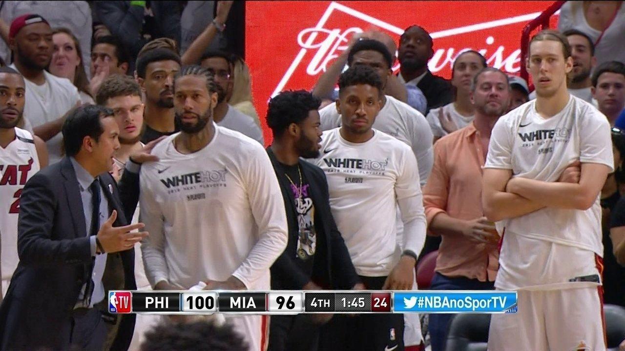 Melhores momentos: Philadelphia 76ers 106 x 102 Miami Heat pela NBA