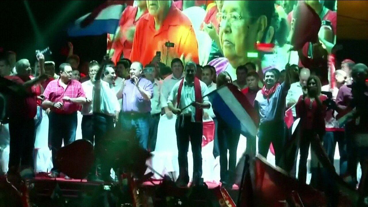 Eleitores escolhem novo presidente do Paraguai neste domingo (22)
