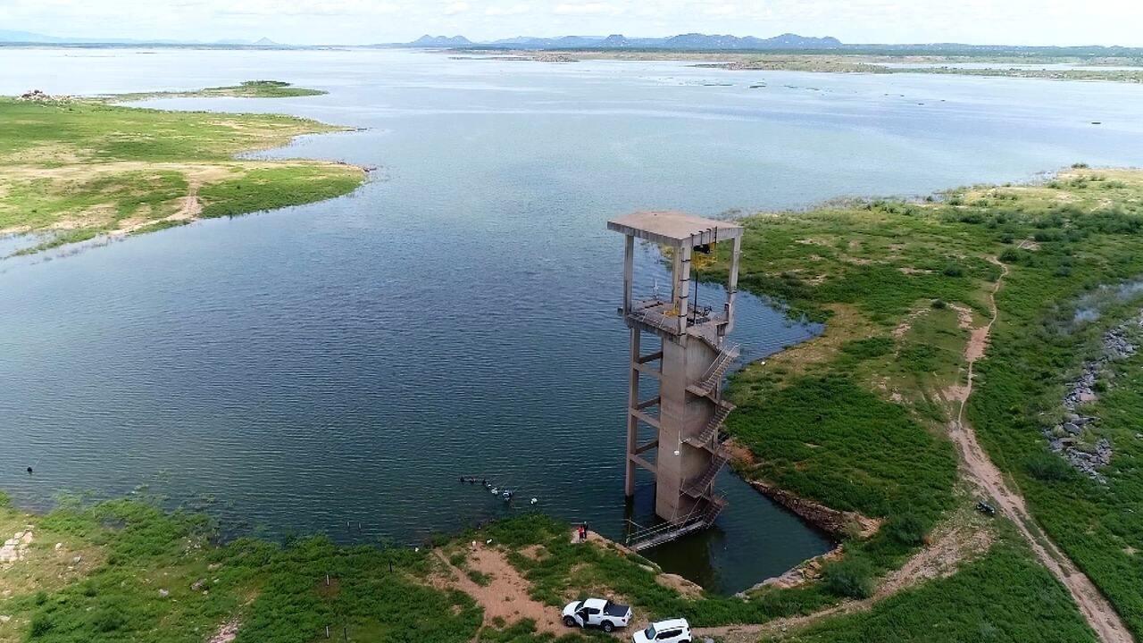 Resultado de imagem para fotos da barragem armando ribeiro gonçalves