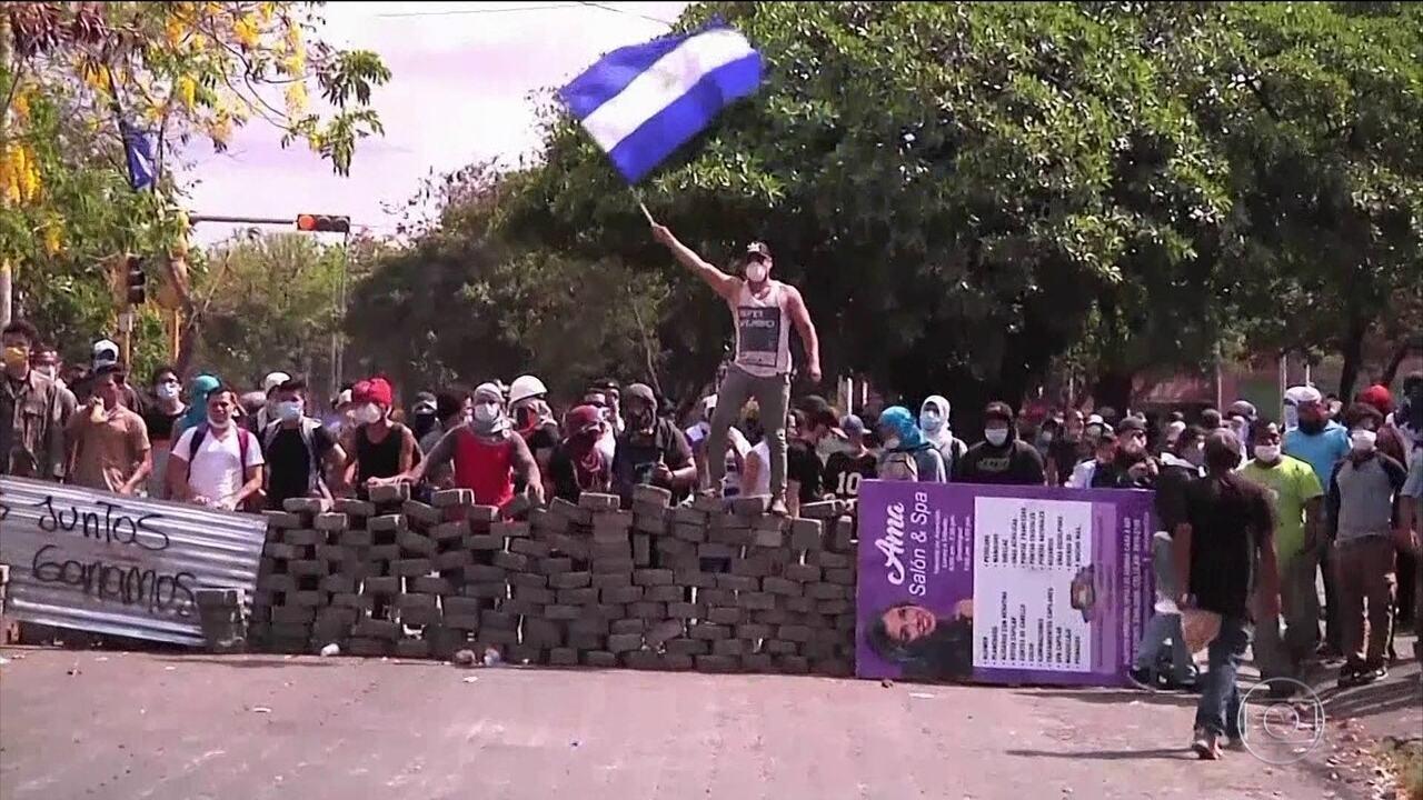 6 dias de protestos registram mortes na Nicarágua